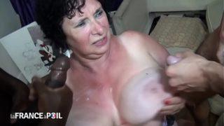 sexe avec une vieille cochonne française
