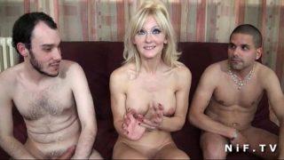 pornographie amateur française avec un bon trio