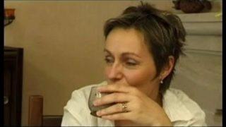 mère de famille française se tape son beau fils